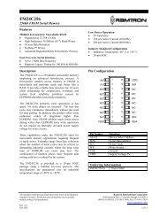 FM24C256 Serial 256kb FRAM - AVRcard