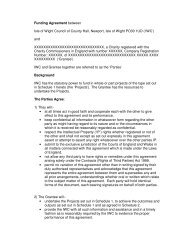 Sample anonymised composite Grant Funding Agreement