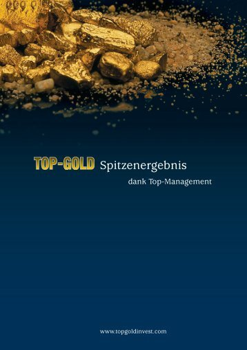 Top-Gold - alpeco AG