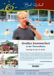 Großes Sommerfest - therme Natur Bad Rodach