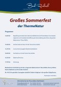 Großes Sommerfest - therme Natur Bad Rodach - Seite 2