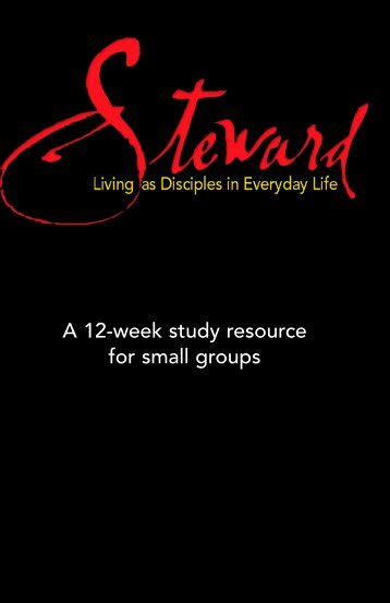 A 12-week study resource for small groups - Cokesbury