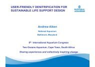 User-friendly denitrification for sustainable seawater use presentation