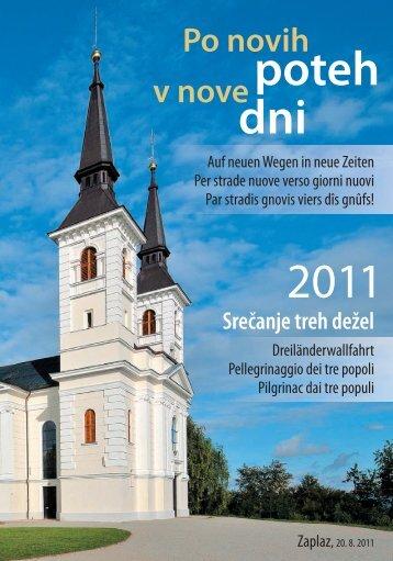 Srečanje treh dežel - Katoliška cerkev v Sloveniji