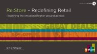 Re: Store – Redefining Retail - Design Lounge