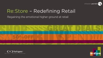 Re: Store – Redefining Retail - Design Lounge
