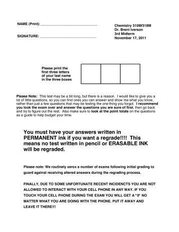 November 17, 2011 Midterm 3 (pdf file) - The University of Texas at ...