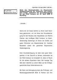 Rede anlässlich der Grundsteinlegung für den Rödl ... - Freller, Karl
