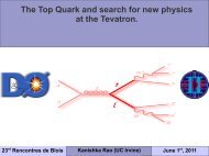 The Top Quark and search for new physics at the Tevatron.