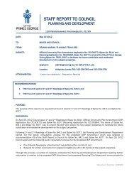 Official Community Plan Amendment Application No. CP100072