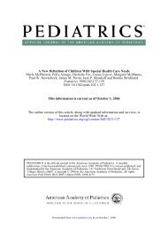 DOI: 10.1542/peds.102.1.137 1998;102;137-139 Pediatrics Paul W ...