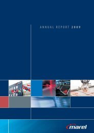 ANNUAL REPORT 2009 - Marel