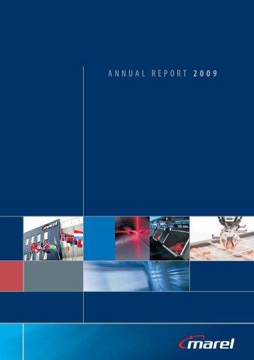 ANNUAL REPORT 2009 - Marel