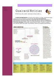 Guairacá Notícias Agosto de 2009 Ed. 01 - Faculdade Guairacá