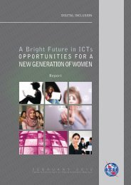 A Bright Future in ICTs Opportunities for a new ... - Girls In ICT