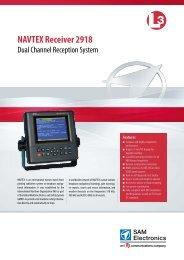 NAVTEX Receiver 2918 - L-3 Marine & Power Systems
