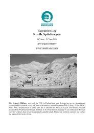 North Spitsbergen - Spitzbergen