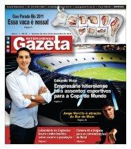Ano 1 • Nº 19 • Semana de 10 a 16 de dezembro de 2011 - Gazeta ...