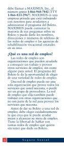 Su Boleto para trabajar - ESRD Network of New England - Page 6