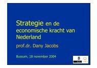 Strategie en de economische kracht van Nederland 584.27 Kb