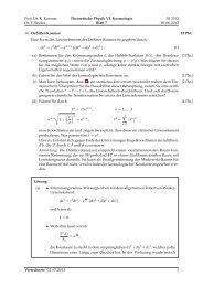 Musterlösung Blatt 7