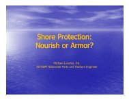 Shore Protection, Nourish or Armor? - Climate Change in Alaska