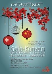 """Symphonischen Orchesters Zürich"""" - Bern - 21. Februar 2013"""