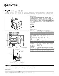 AMC-1A - Pentair Thermal Management