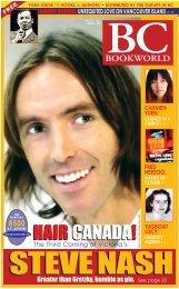 Spring 2007 Volume 21 - No. 1 - BC BookWorld