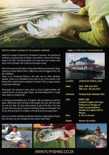 download pdf - Mavungana Flyfishing