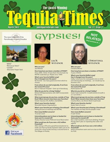 March 2013 Newsletter PDF - Parrot Heads in Amish Paradise
