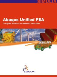 Abaqus Unified FEA