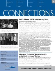 Let's Make 2009 a Winning Year - West Shore Chamber of Commerce
