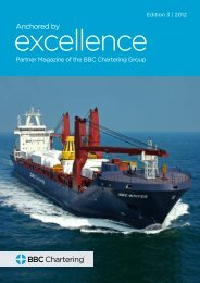 Excellence, 6th Edition - BBC Chartering
