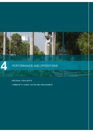 Performance and Operations - Department of Transport