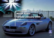 Norsk Hydro Update January 2000