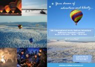 Gällivare Swedish Lapland - Arctic Hot-Air Balloon Adventure
