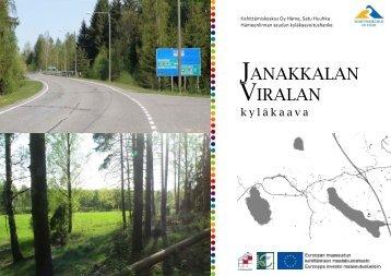 kyläkaava - Kehittämiskeskus Oy Häme