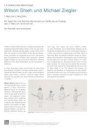 Presse Text - L.A. Galerie – Lothar Albrecht