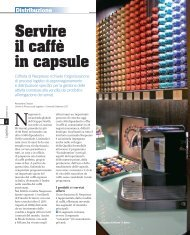 Servire il caffè in capsule - Beta 80 Group