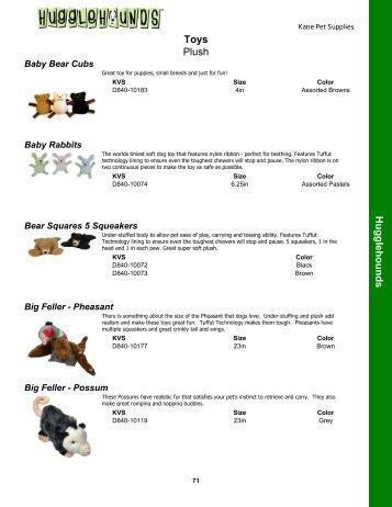 Hugglehounds Toys - Kane Veterinary Supplies