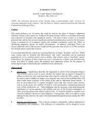 MS Word Memo Template - Climate Change in Alaska - State of ...