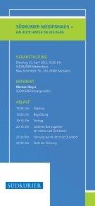 Wirtschafts-talks 2013 - Netzwerk-Bodensee - Page 6