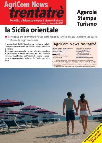 La Sicilia orientale - MEDIASTUDIO Giornalismo & Comunicazione