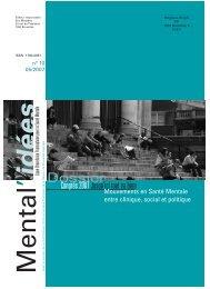Mental'idées n°10 - Ligue Bruxelloise Francophone pour la Santé ...