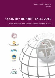 COUNTRY REPORT ITALIA 2013 - Il Sole 24 ORE