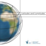 Latitudes and Longitudes - Ciência Viva
