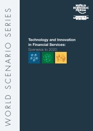 Technology and Innovation in Financial Services scenarios - World ...