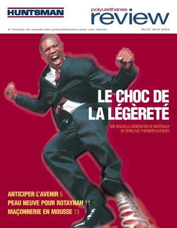 LE CHOC DE LA LÉGÈRETÉ