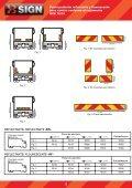 Panel posterior reflectante y fluorescente para camión ... - FM Electro - Page 2